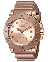 Emporio Armani Wave Analog Rose Gold Dial Men's Watch - AR6082