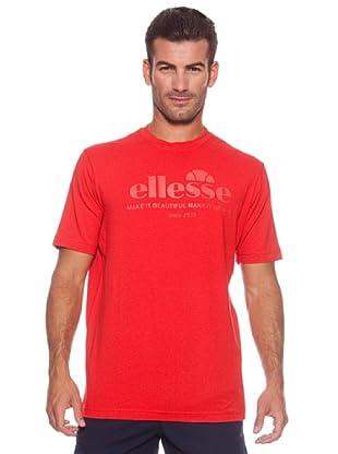 Ellesse Camiseta Manga Corta Sack (Rojo)
