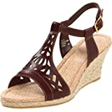 Rockport Emily Laser Cut T-Strap Wedges