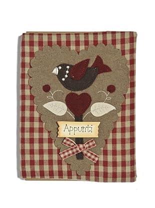 My Doll Cuaderno Bellini 16x21 cm rojo