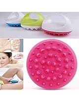 Anti Cellulite Slimming Body Massager Bath Shower Brush Relaxing Enhance Blood Circulation