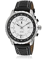 DM6001WT01 Black/White Analog Watch