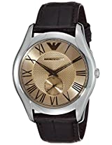 Emporio Armani Analog Gold Dial Men's Watch - AR1704