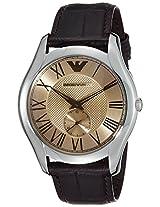 Emporio Armani Analog Gold Dial Men's Watch - AR1704