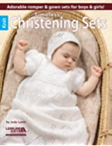 Timeless Knit Christening Sets: Adorable Romper & Gown Sets for Boys & Girls!