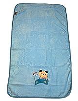 belle maison Blue Baby Super Soft Towel(Veloure,50*90CM)