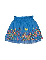 FS Mini Klub Girls' Blue Skirt