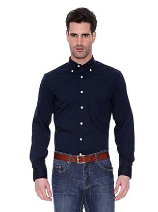 Armata Di Mare Camisa Lisa (Azul Marino)