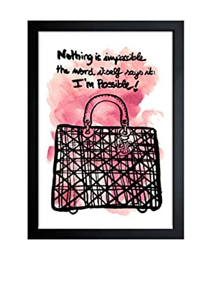Oliver Gal Nothing is Impossible Framed Art