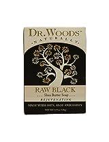 Dr. Woods : Bar Soap Raw Black, 5.25 Oz