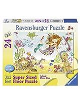 Ravensburger Junior Mermaid Floor Jigsaw Puzzle (24-Piece)