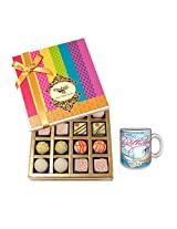 Delightful Birthday Celebration With Birthday Mug - Chocholik Belgium Chocolates