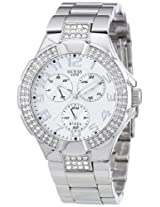 Guess Analog Silver Dial Women'sWatch - I14503L1
