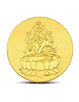 CaratLane 20 grams 24K Yellow Gold Lakshmi Precious Coin