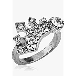 Austrian Diamond Silver Ring Zoey