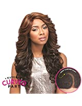 Sensationnel C Parting Lace Front Wig Jasi (1 Jet Black)