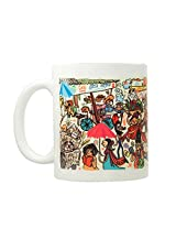 Chumbak Bazaar Coffee Mug, 300ml