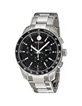 Movado 800 Black Dial Performance Steel Chronograph Men's Watch - Mv2600094