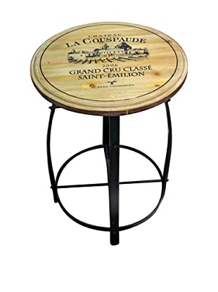 Winward Wine Accent Table, Brown