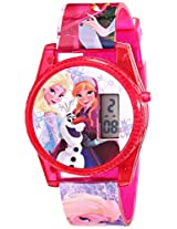 Disney Kids' FNFKD071 Frozen Musical and Flashing Lights Digital Watch, Let it Go
