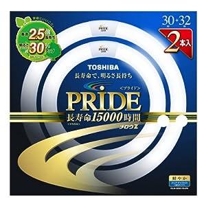 東芝 30形+32形丸型蛍光灯・クリアデイライト色(昼光色)TOSHIBA メロウZ PRIDE(プライド) FCL30-32EDC-PDL2PN