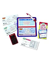 LEARNING RESOURCES PRETEND & PLAY CHECKBOOK W/ (Set of 6)