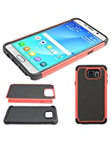 DMG Hybrid Dual Layer Armor Defender Protective Case Cover for Samsung Galaxy Note 5 N920 (Red)