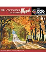 MasterPieces Bill Coleman's The Amish Fall Splendor Jigsaw Puzzle, 500-Piece