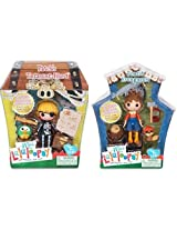 Mini Lala Loopsy Bundle Pack 2 Retired Boy Dolls Forest Evergreen And Patchs Treasure Hunt
