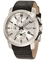 Kenneth Cole Dress Sport Analog Silver Dial Men's Watch - KC1845