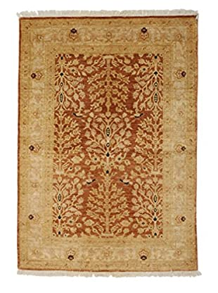 Darya Rugs Traditional Oriental Rug, Red, 4' x 5' 9