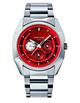 Police Analog Red Dial Men's Watch - PL11310JS/16M
