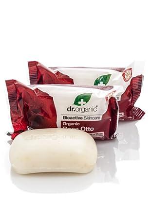 Dr.Organic Set 3 Jabones de Rosa de Mosqueta 100 gr (u)