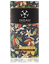 Indah 61% Dark Chocolate- Salted Almond