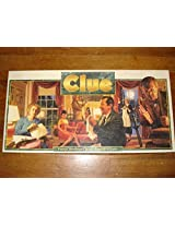 Clue Board Game: 1992 Version