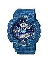Casio Baby-G Analog-Digital Blue Dial Women's Watch - BA-110DC-2A3DR(BX050)