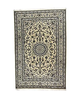 L'Eden del Tappeto Teppich Kashmar beige/blau 305t x t200 cm