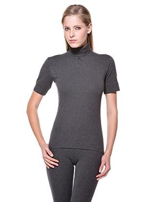 Cotonella Camiseta Cuello Alto (gris)