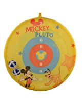 Disney DJX10626 Mickey Slimeball Dartboard, Kid's (Blue)