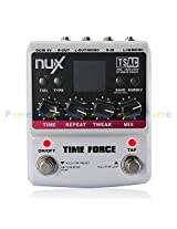 FOME Cherub NUX Time Force Multi Modulation Digital Delay Effects Guitar Effect Pedal (11 Delay Effects + 9 preset position + Kill dry function + Tail keeping function) + A FOME Gift