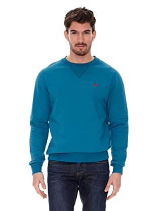 Jack Russell Jersey Cuello Redondo (Azul Petróleo)