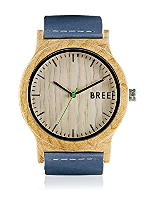 Breef Watches Reloj con movimiento japonés Unisex Maple Original Azul 44 mm