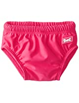 Baby Banz Baby Girls' Swim Diaper Solid, Coolgardie Pink, 6 8 Months Medium