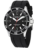 Stuhrling Original Aquadiver Analog Black Dial Men's Watch - 706.01
