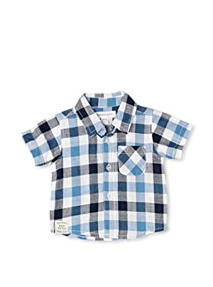 Pumpkin Patch Camisa Check (Azul)