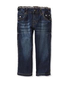 KANZ Boy's Straight Leg Jeans (Denim)