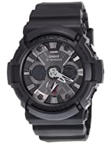 Casio G-Shock Analog-Digital Black Dial Men's Watch - GA-201-1ADR (G362)