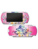 My Little Pony Friendship Is Magic Mlp Friends Cutie Marks Video Game Vinyl Decal Skin Sticker Cover For Sony Psp Playstation Portable Original Fat 1000 Series System