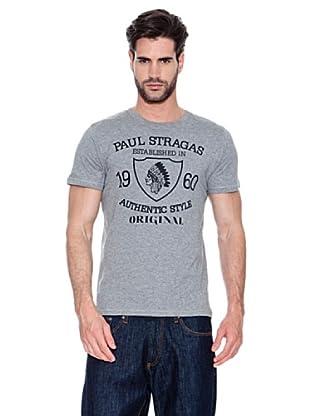 Paul Stragas Camiseta Denver (Gris Oscuro)