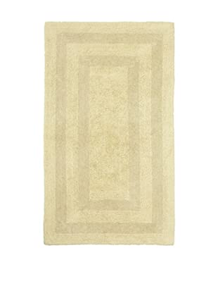 Terrisol Reversible Cotton Bath Rug (Bamboo)